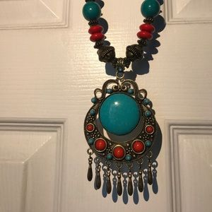 3 Tribal and colorful style necklaces